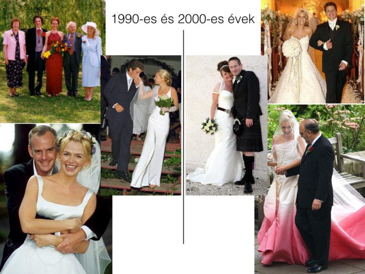 Így változtak a menyasszonyi ruhák az elmúlt 100 évben - 780c8c8800